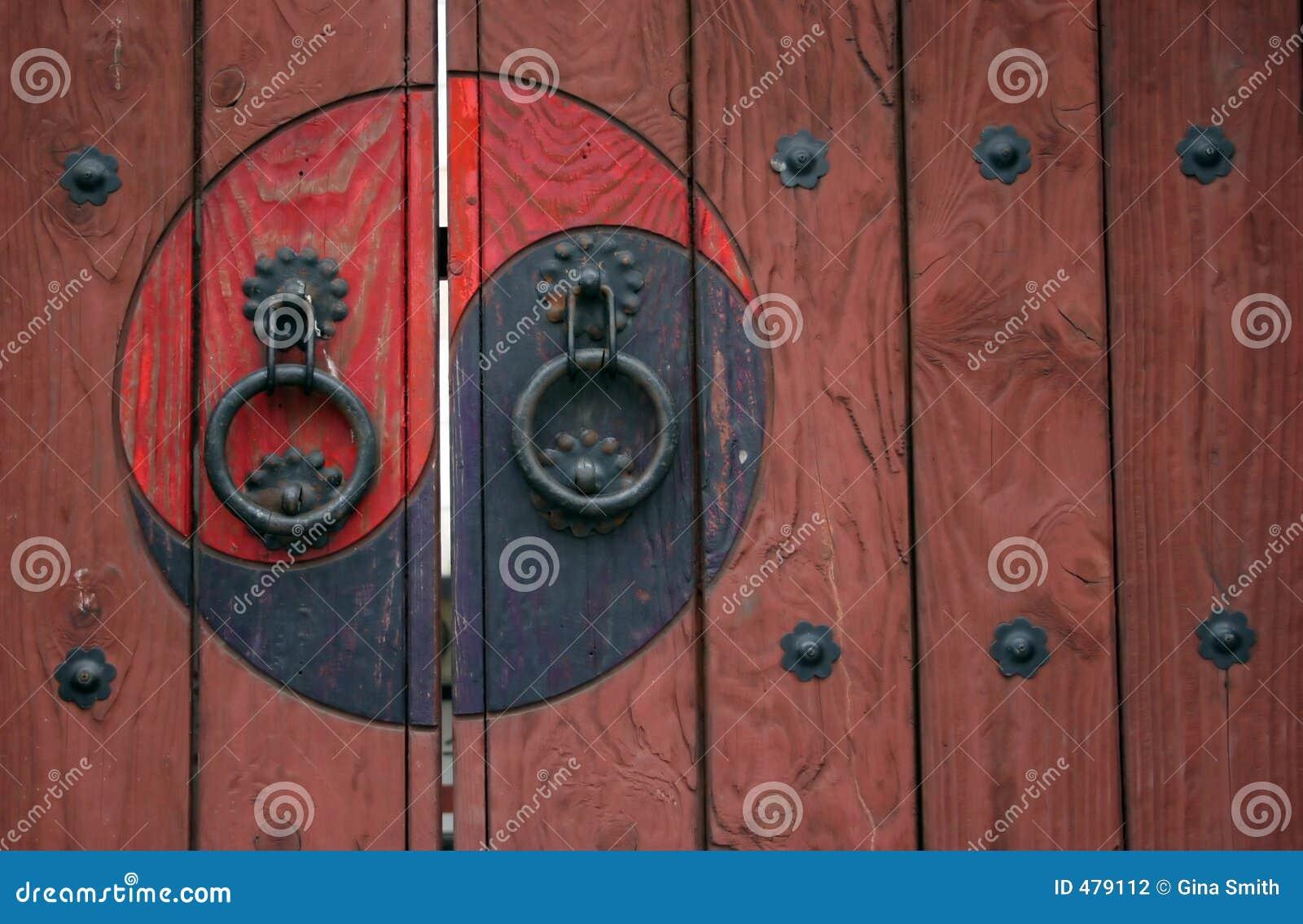 Drzwi zen.