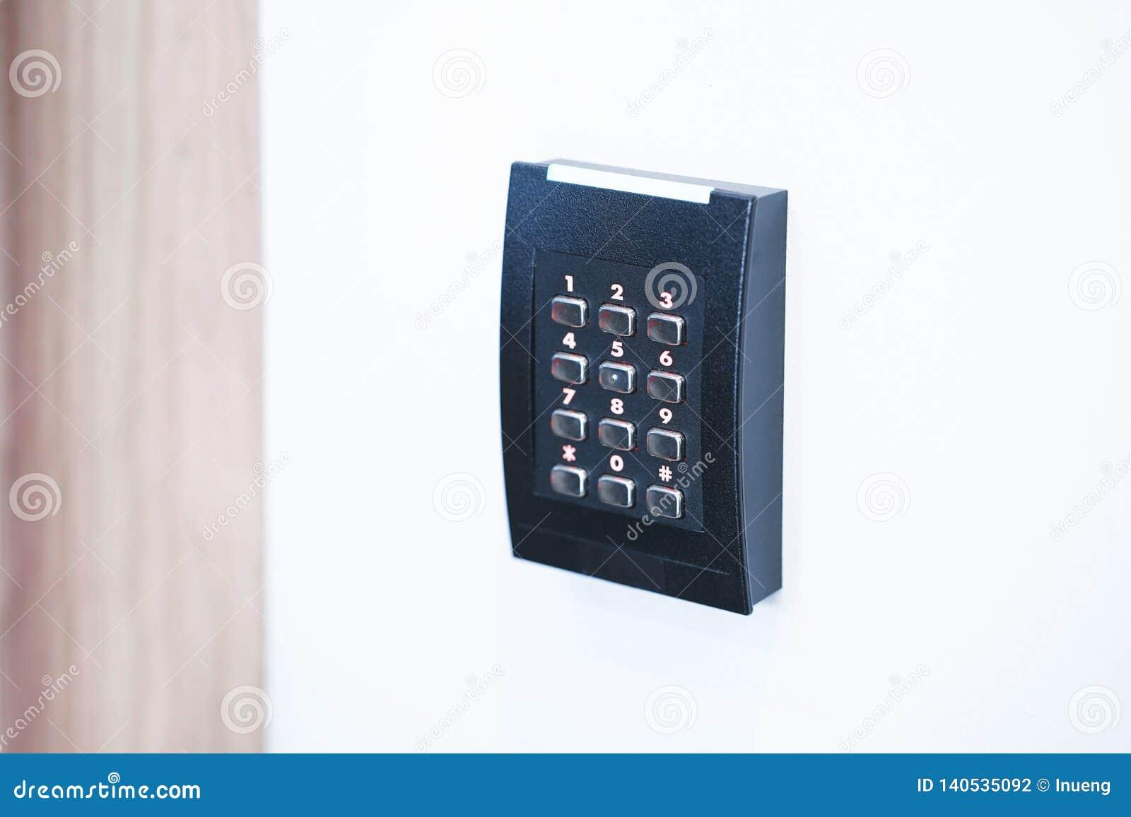 Drzwiowa kontrola dostępu klawiatura z keycard czytelnikiem