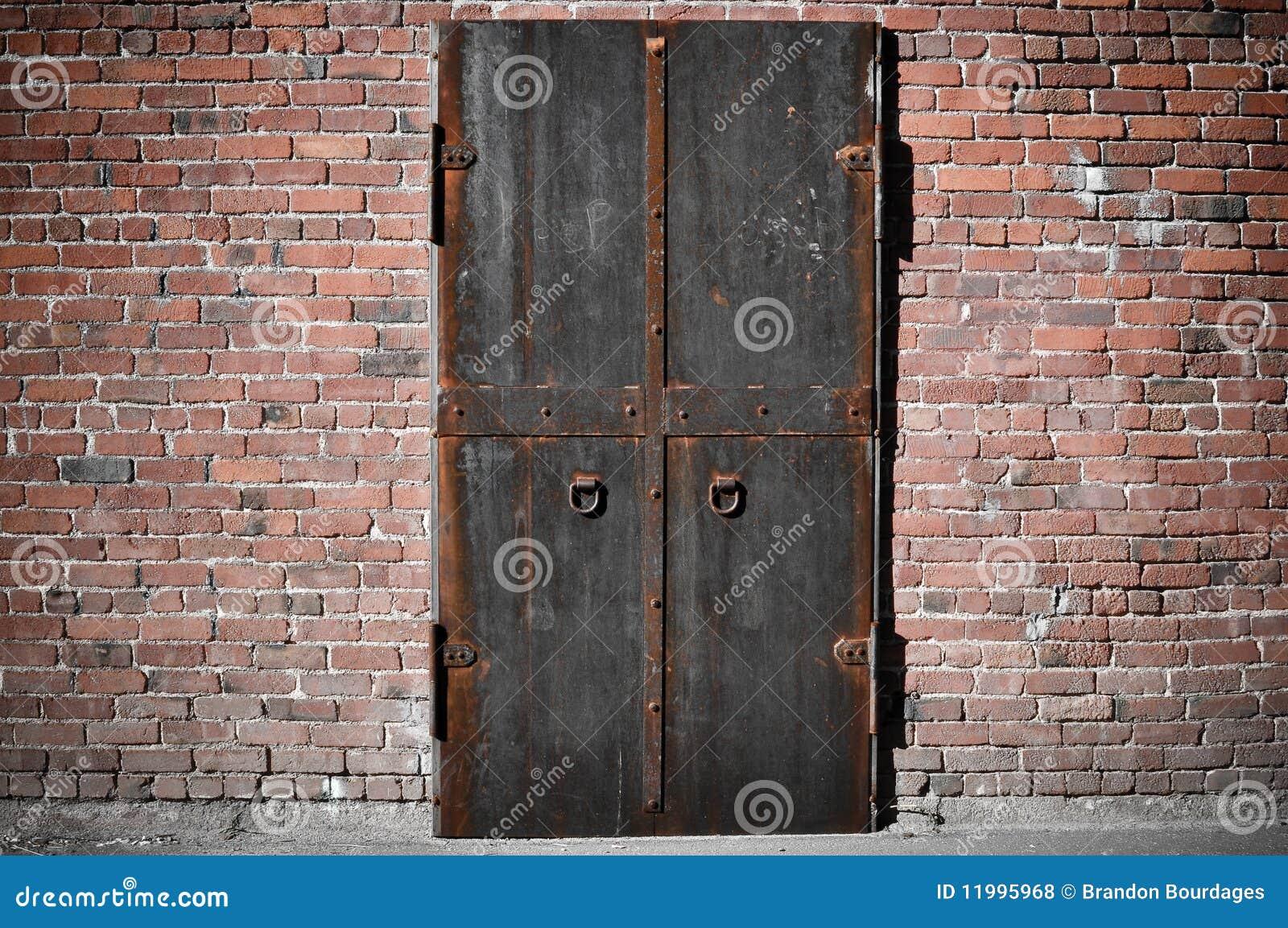 Drzwiowa straszna stal