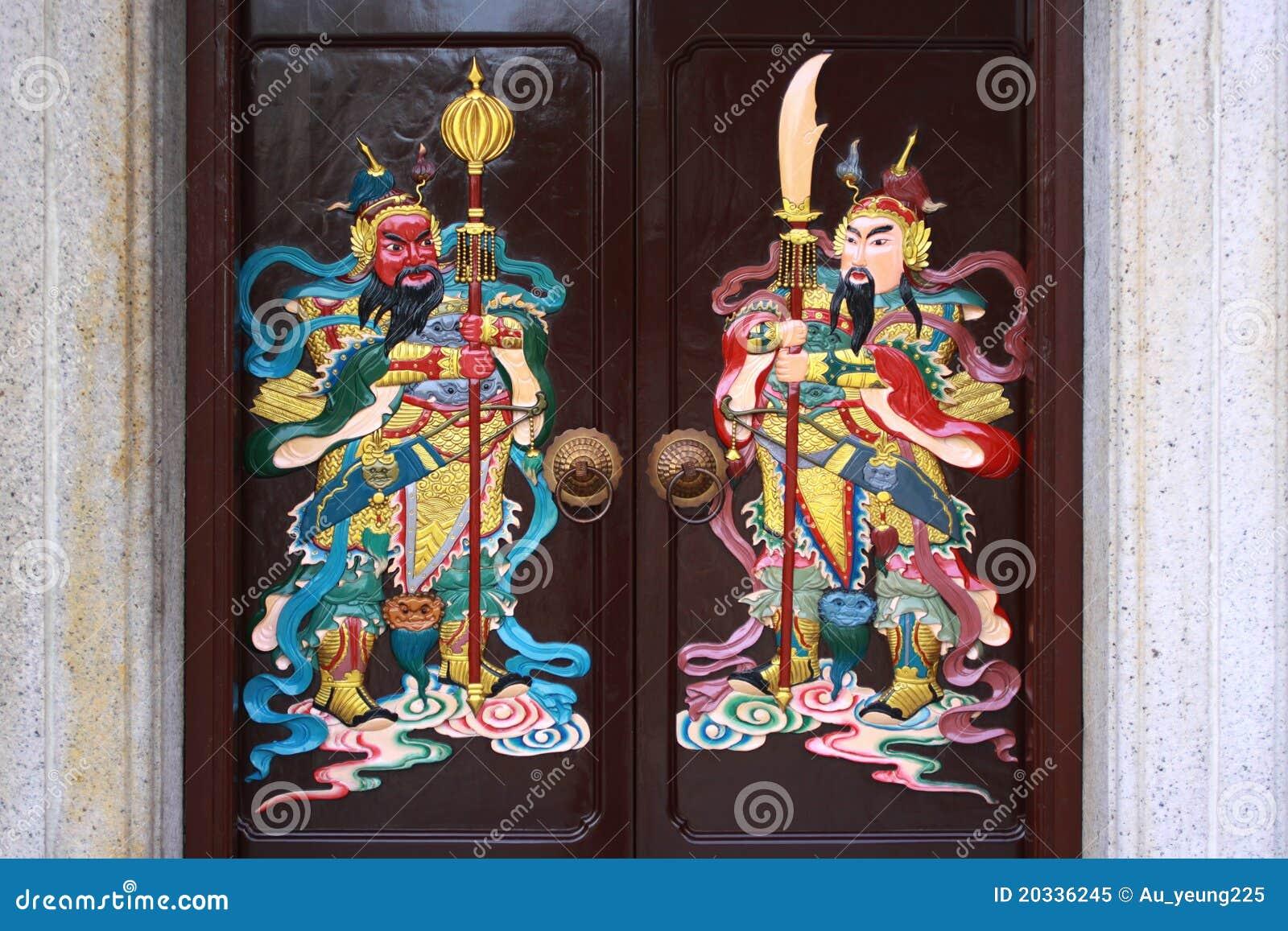 Drzwiowy bóg