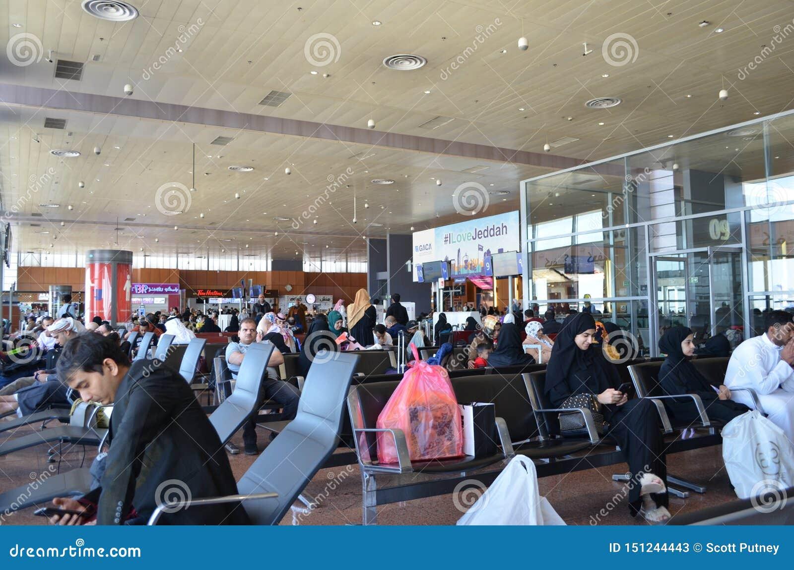 Dschidda, Saudi-Arabien, Flughafenabfertigungsgebäude