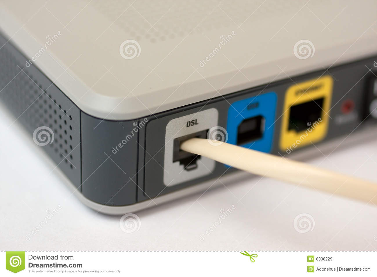 how to connect steve modem wired