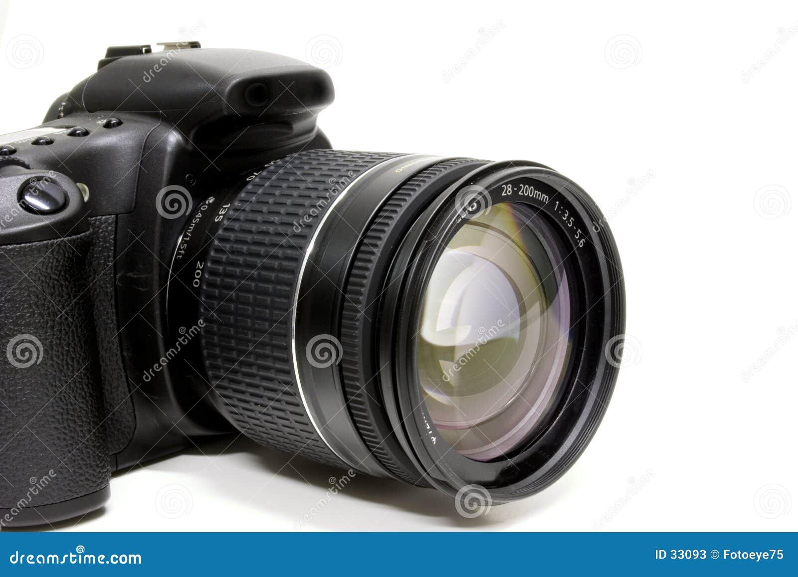 Download DSLR imagen de archivo. Imagen de lente, canon, memoria - 33093