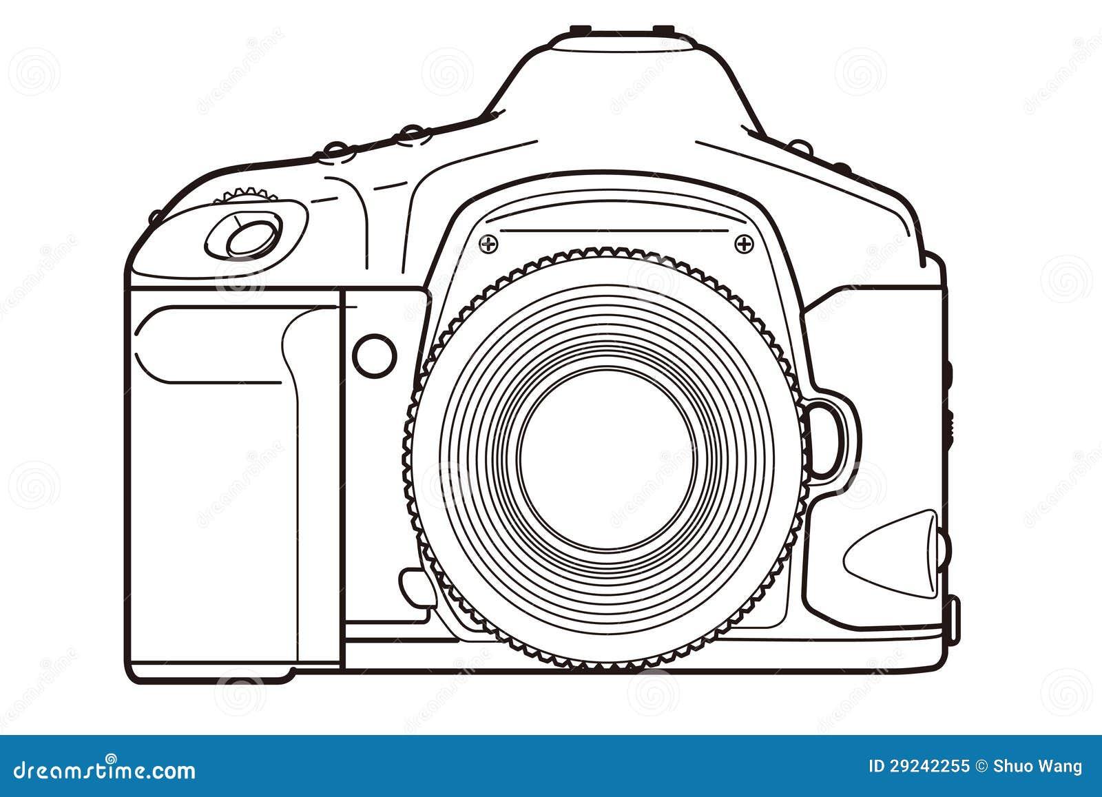 free clipart slr camera - photo #27