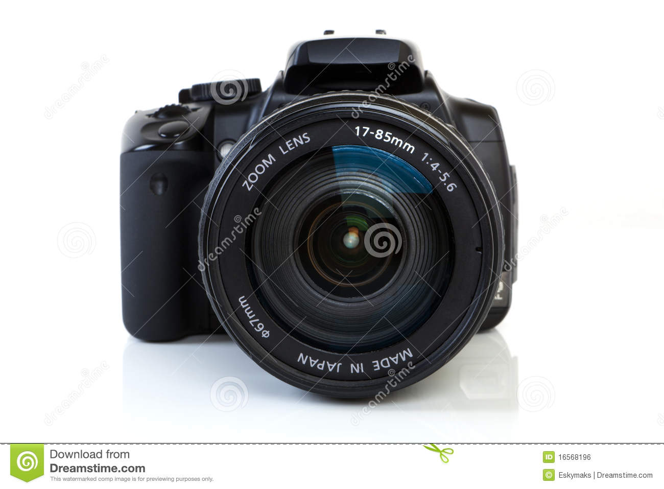 DSLR Camera - front view