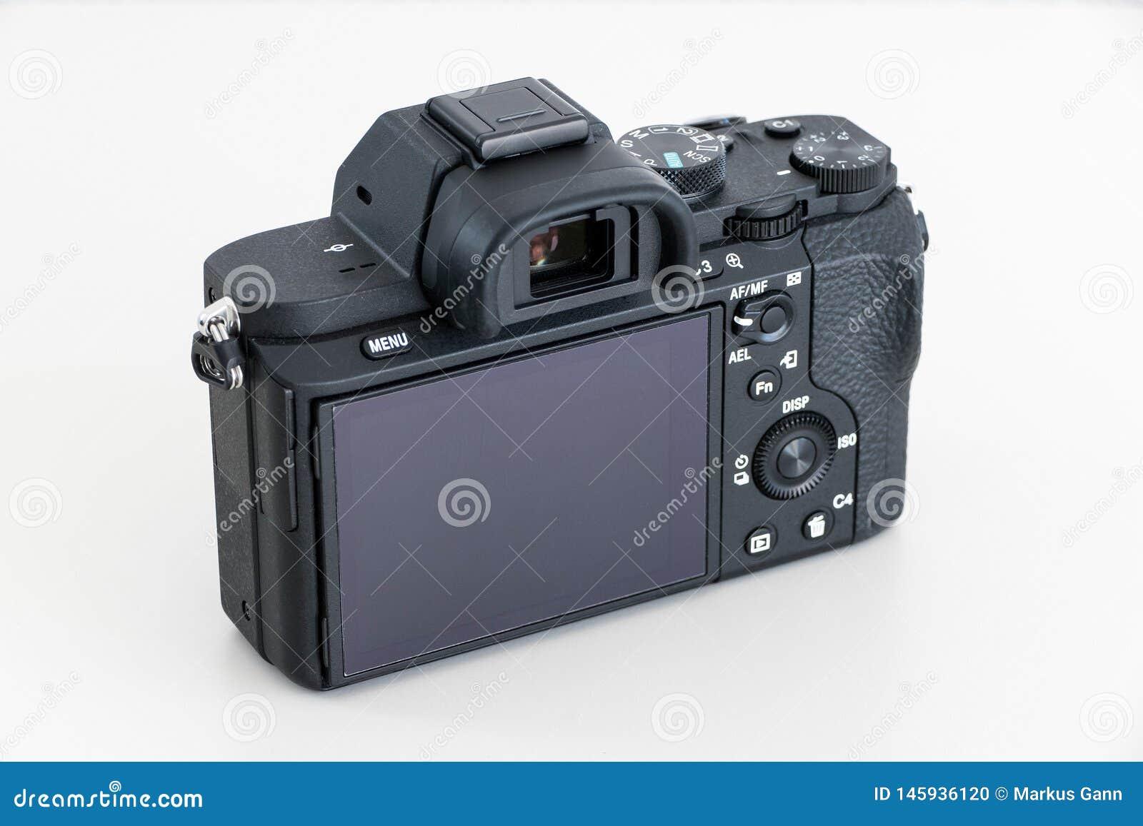 DSLR-camera zonder lens