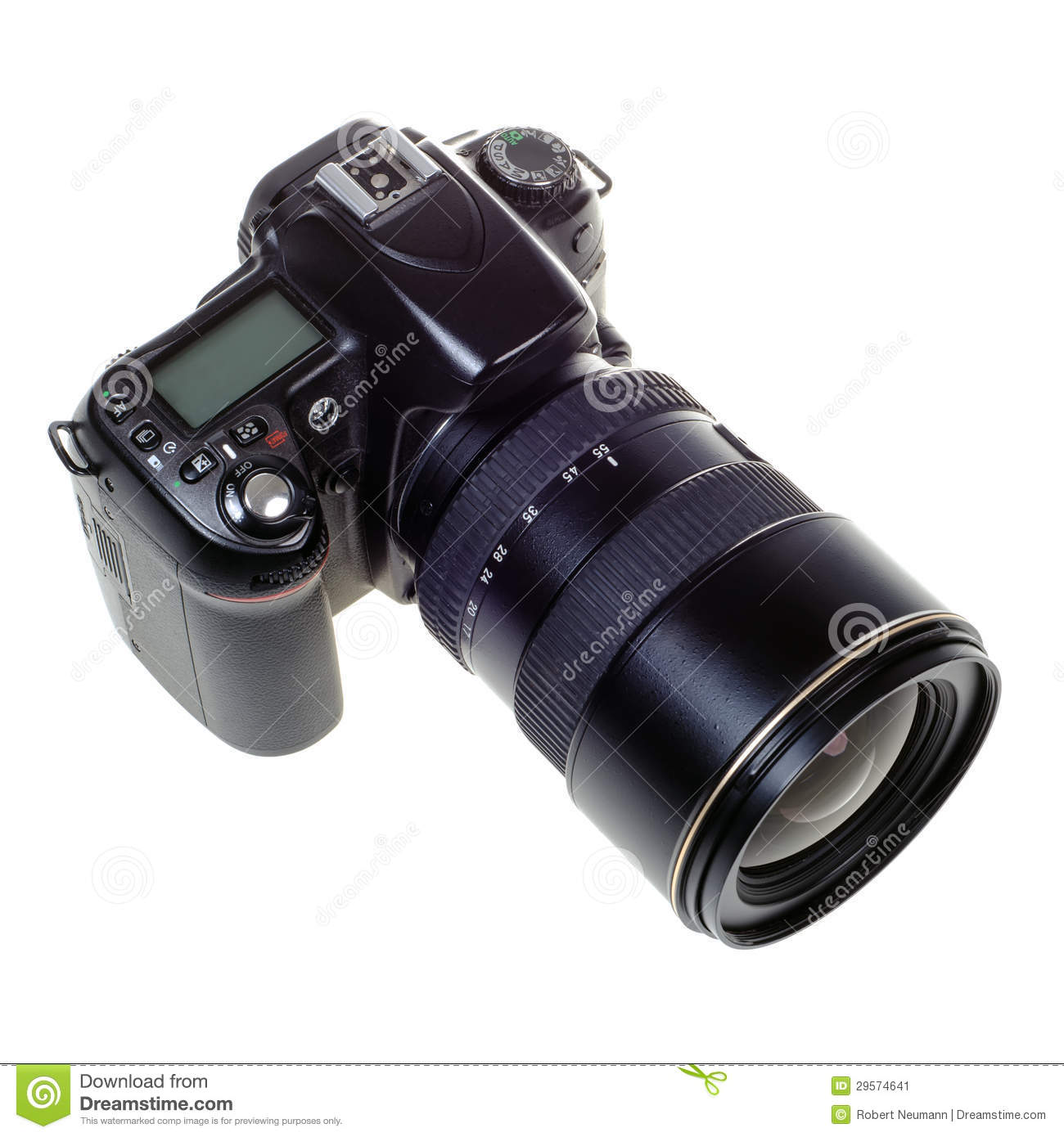 digital single lens reflex camera A digital single lens reflex (dslr) camera is provided for displaying predetermined photographing information, including focus information, camera information, etc, on a display screen of a viewfinder.