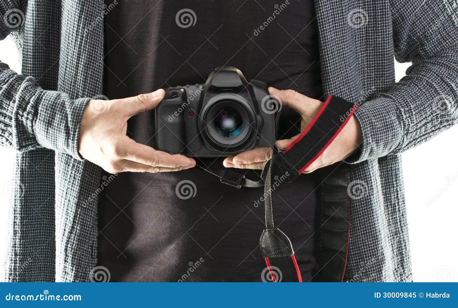 Kamera för manhåll DSLR