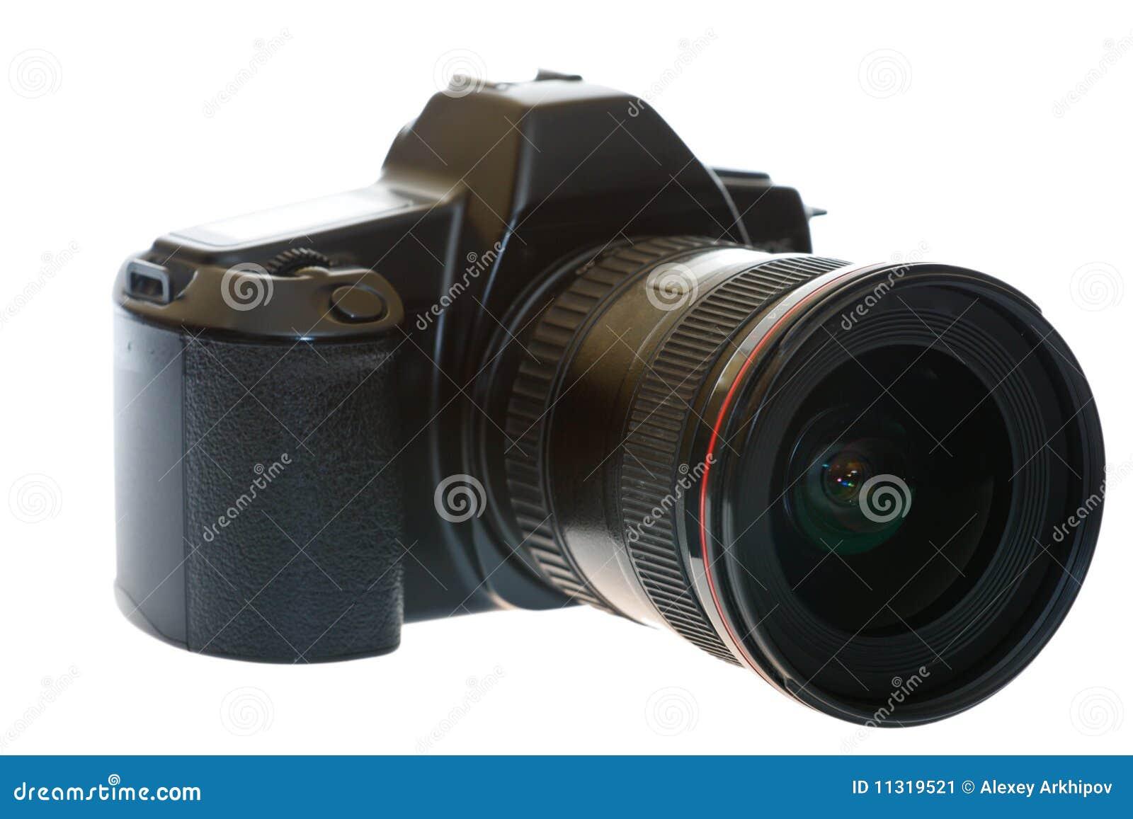 DSLR mit einem Weitwinkelobjektiv