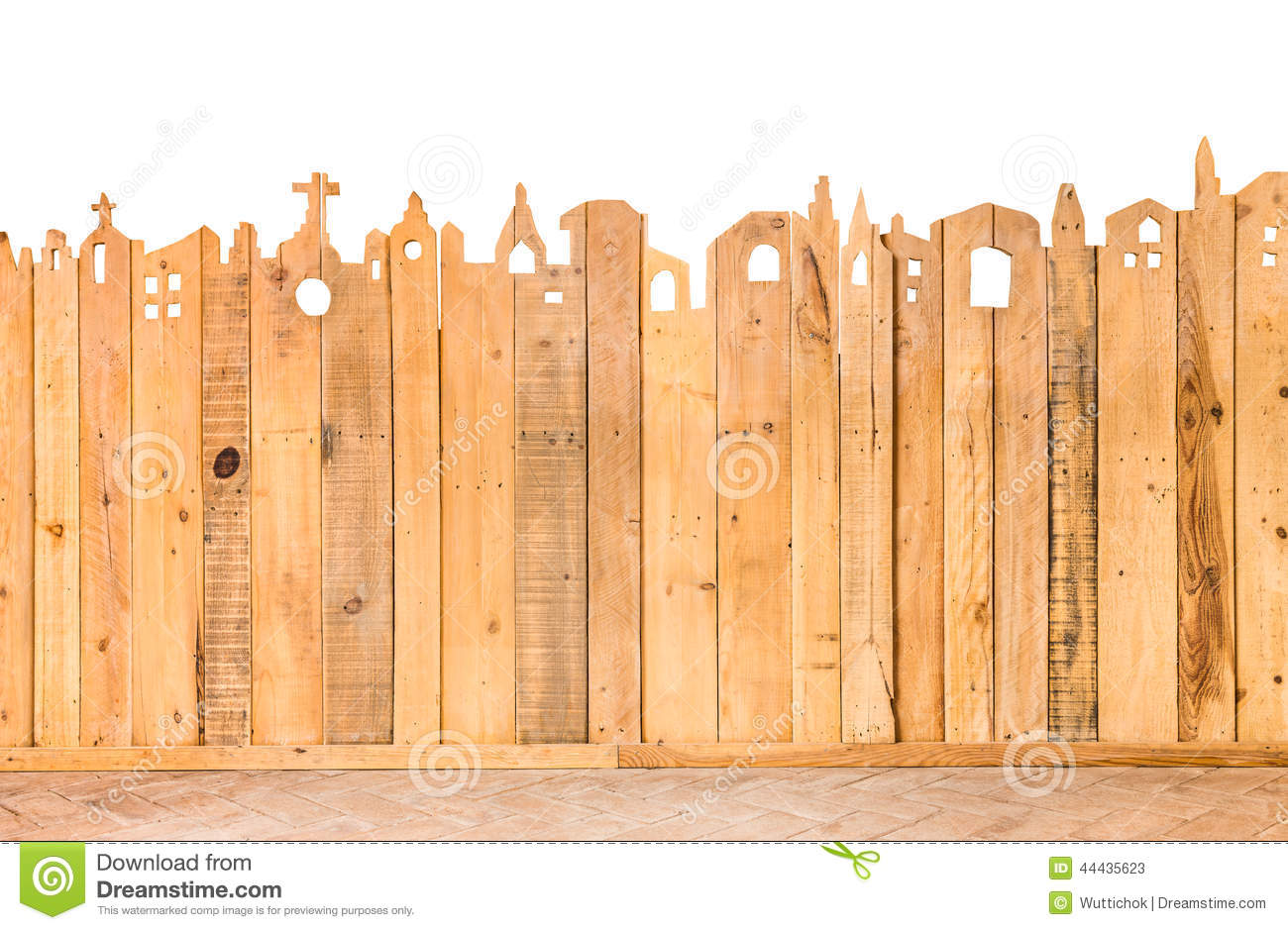 D tail de mod le de texture en bois de barri re photo stock image 44435623 - Barriere en bois ...