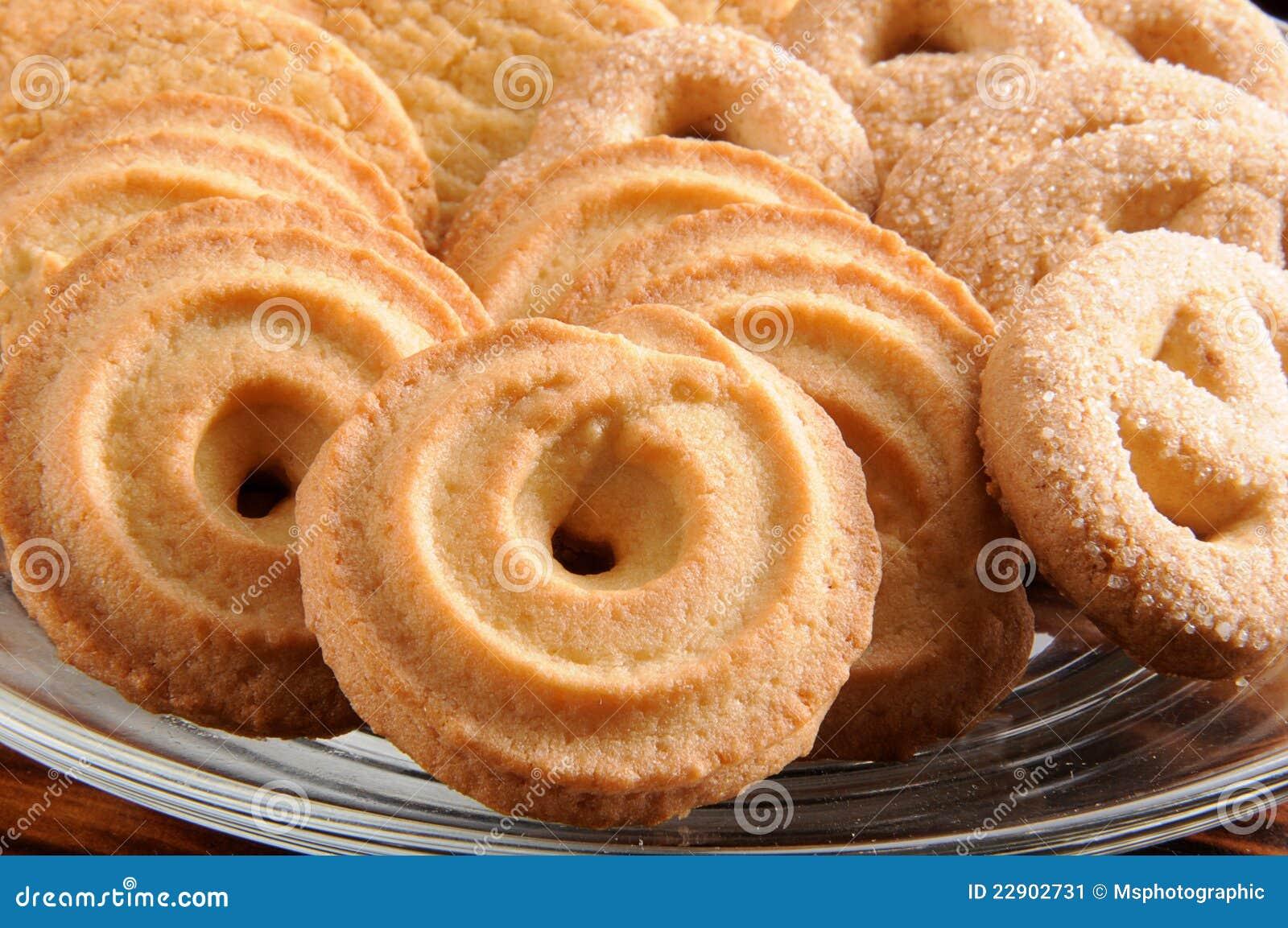 Duńscy maseł ciastka