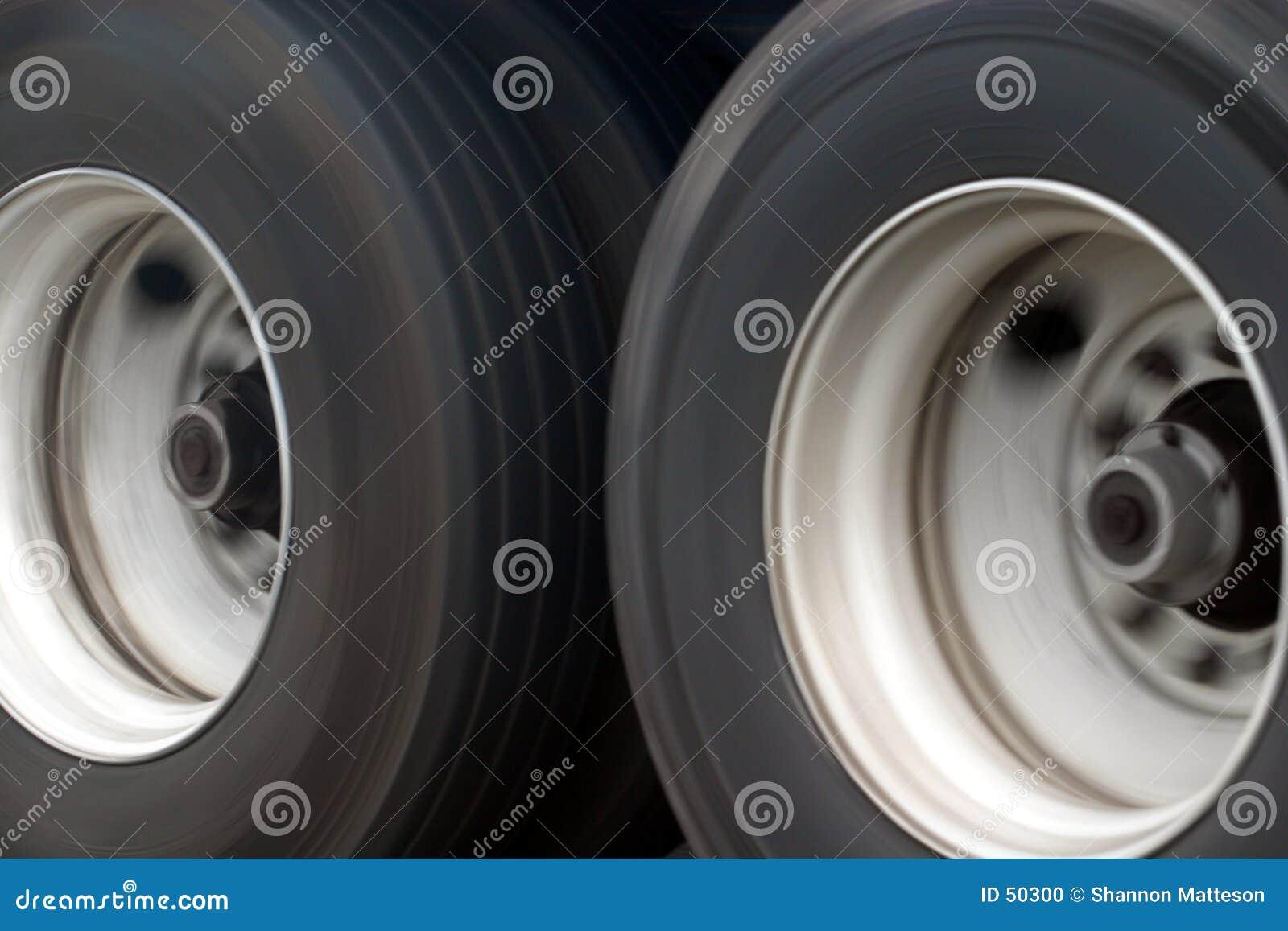 Duże ciężarówki kół