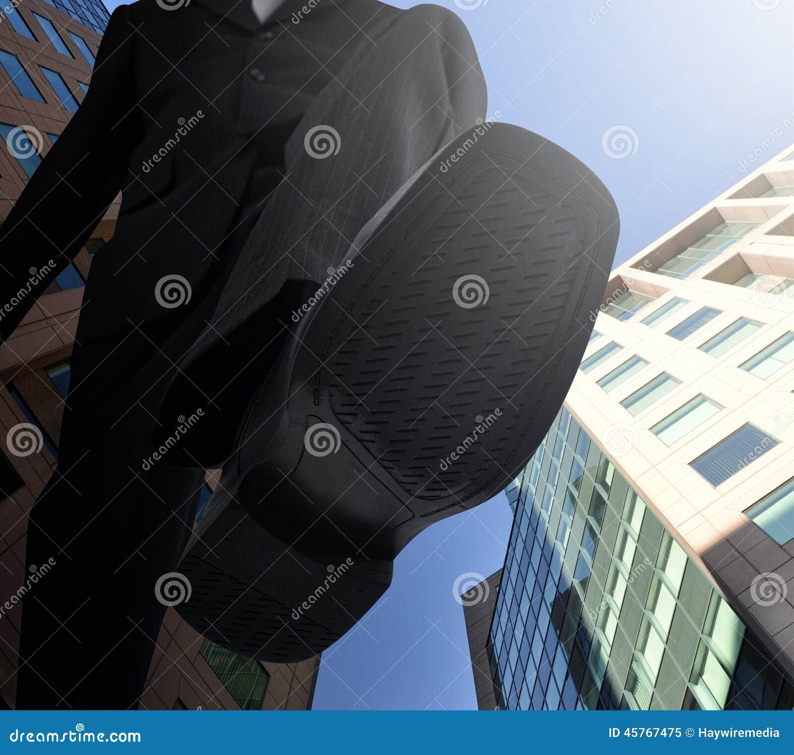 Dużego szefa Nożny kroczenie - puszek
