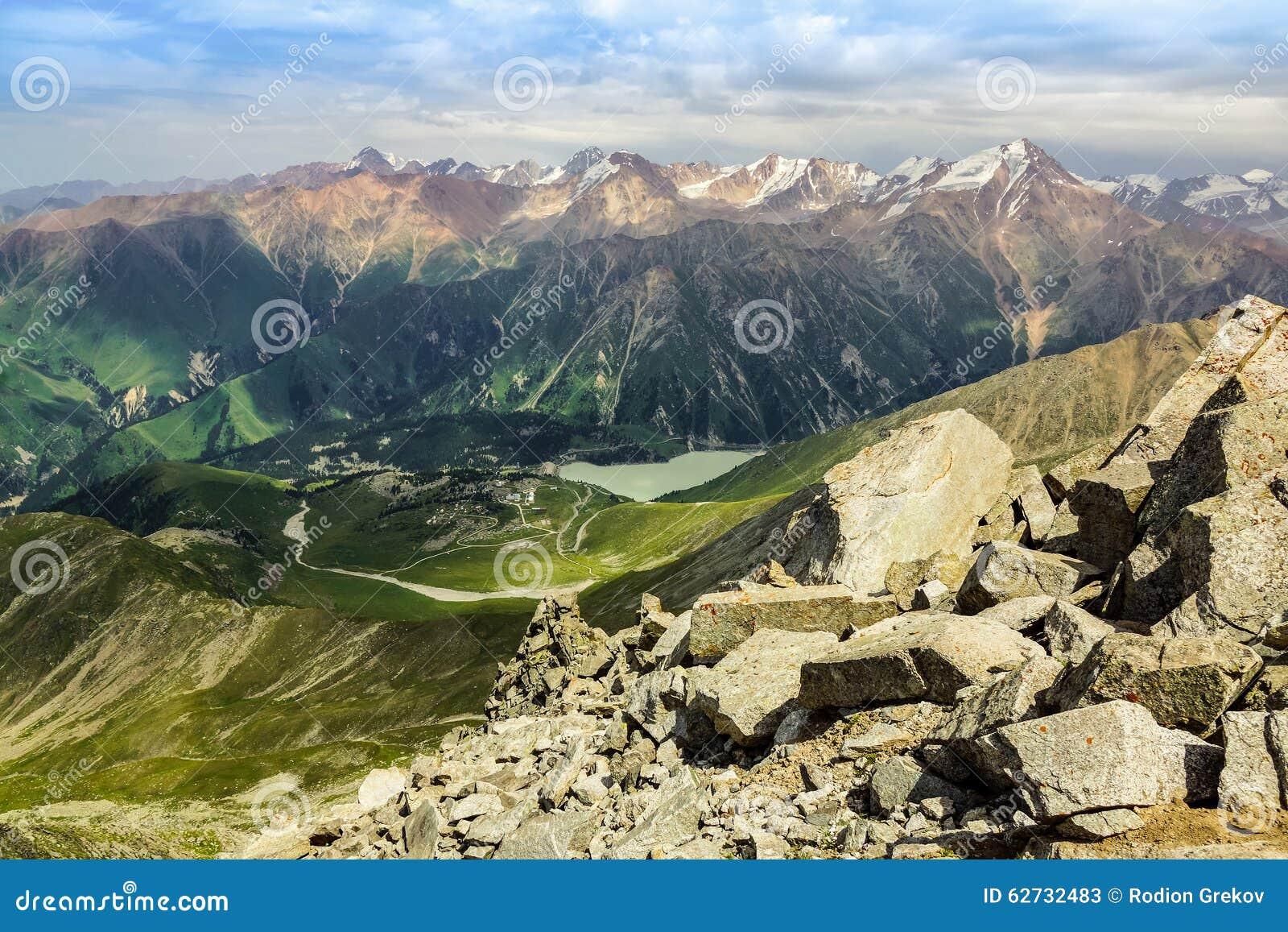 Duży Almaty szczyt