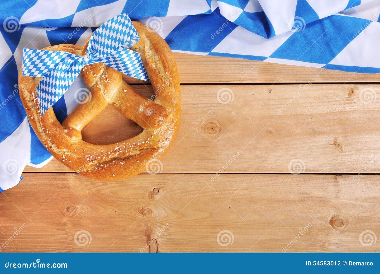 Duży Bawarski Oktoberfest miękki precel