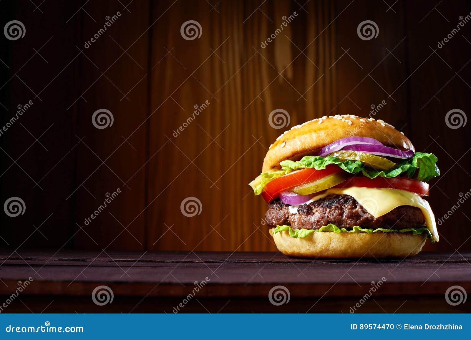 Duży hamburger