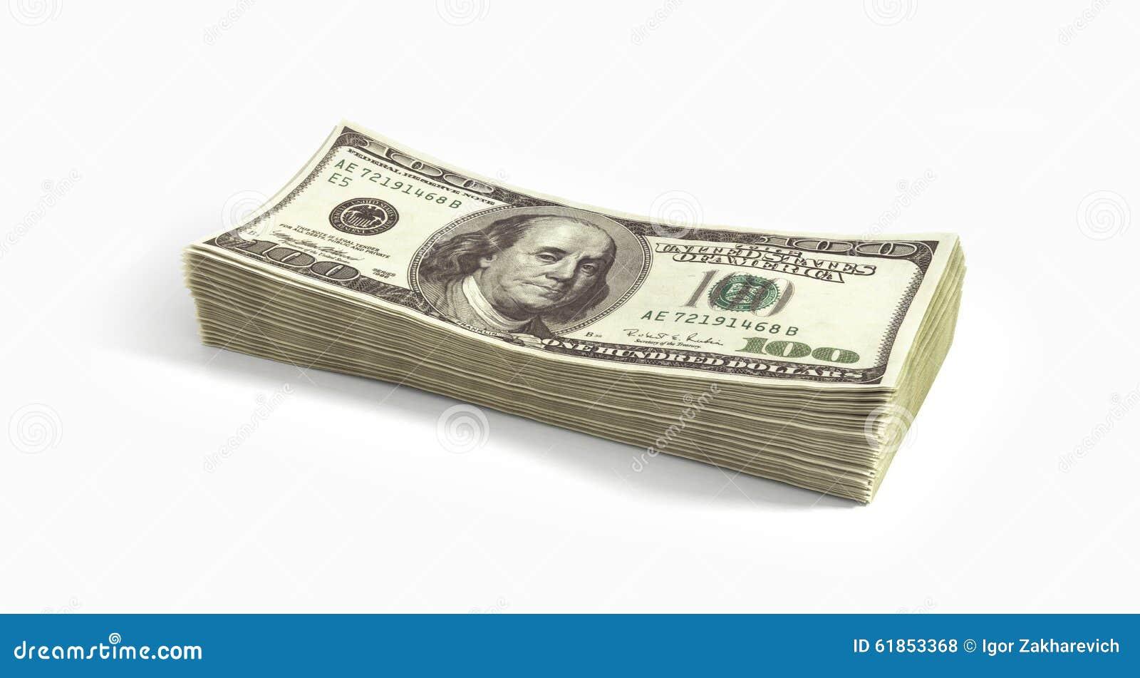 Duży stos dolary