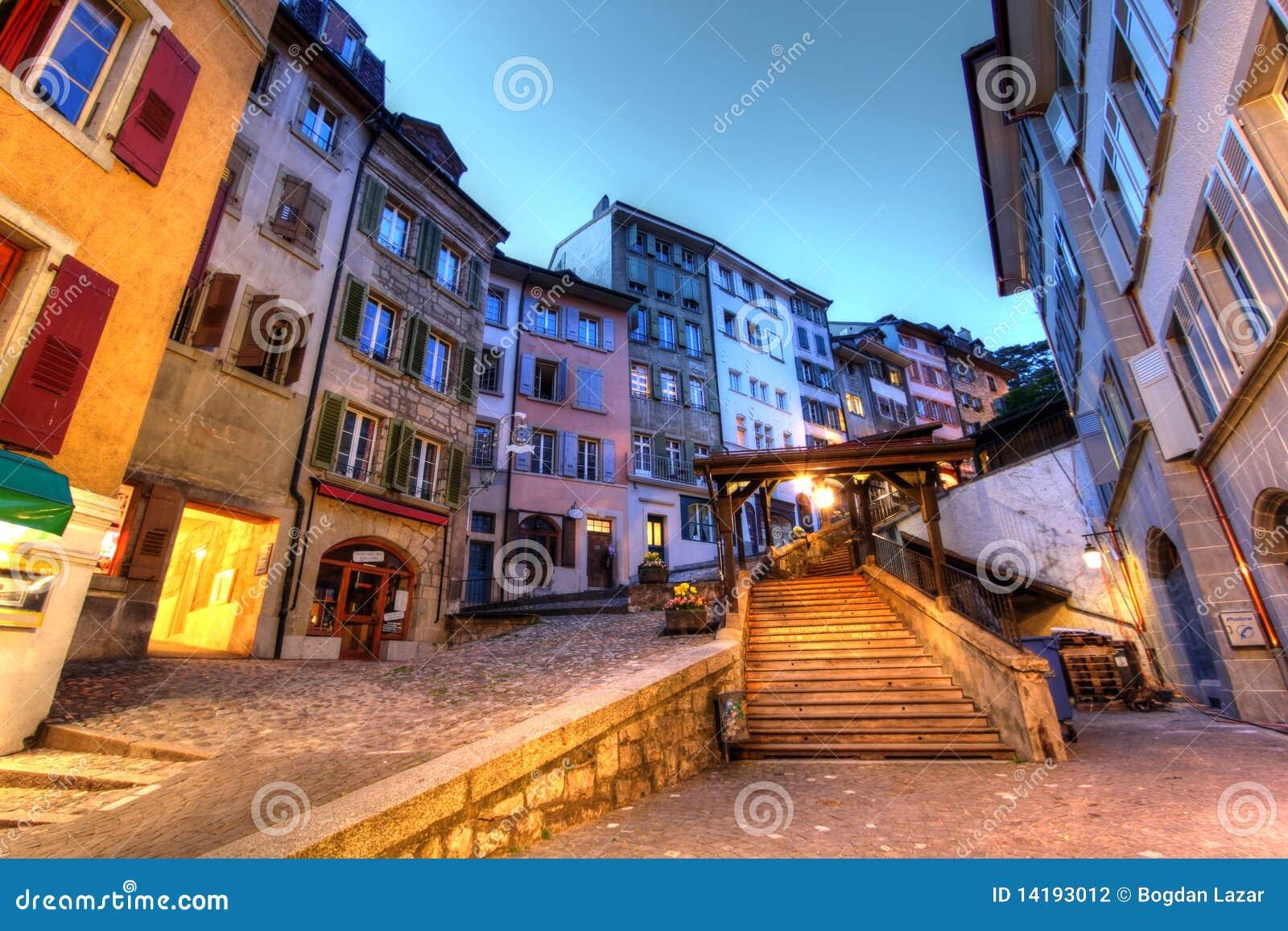 Du escaliers lausanne marche switzerland