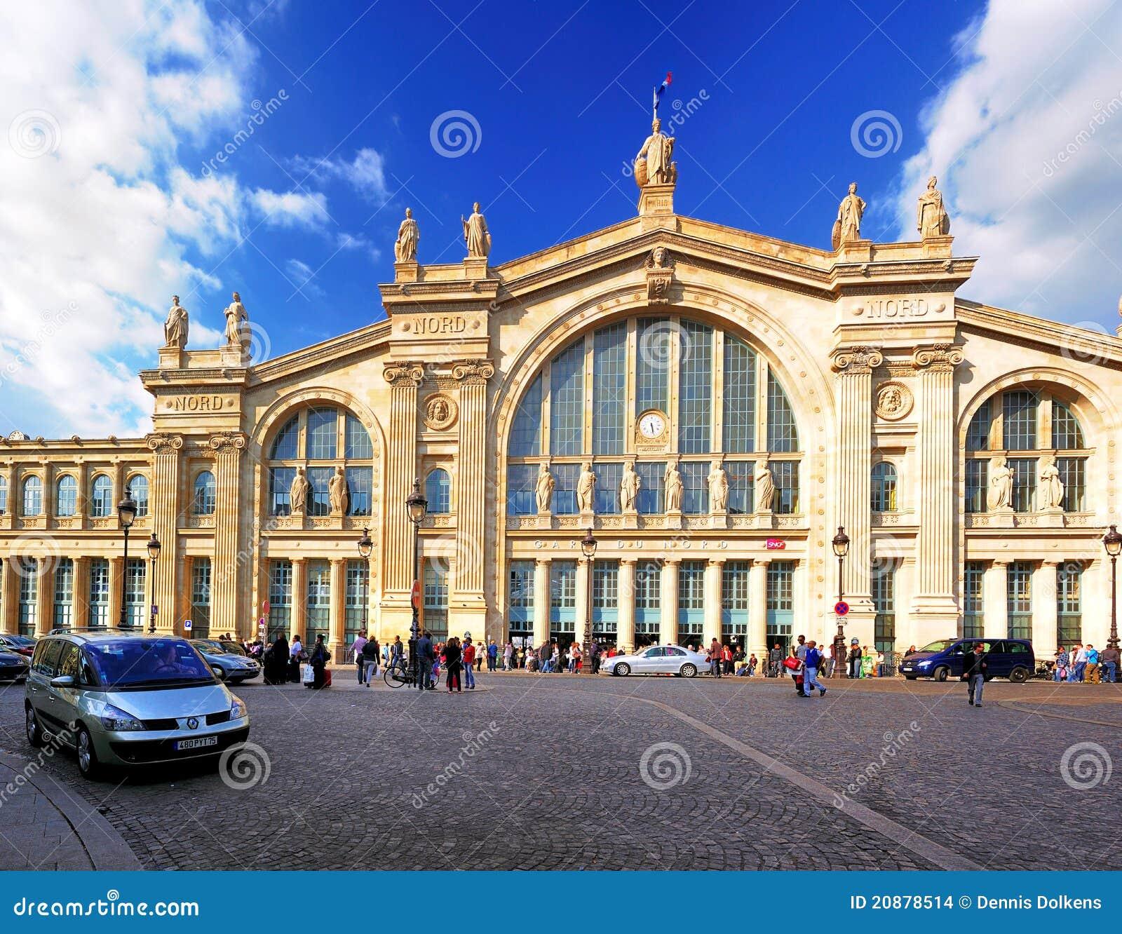 Du nord Gare Paris