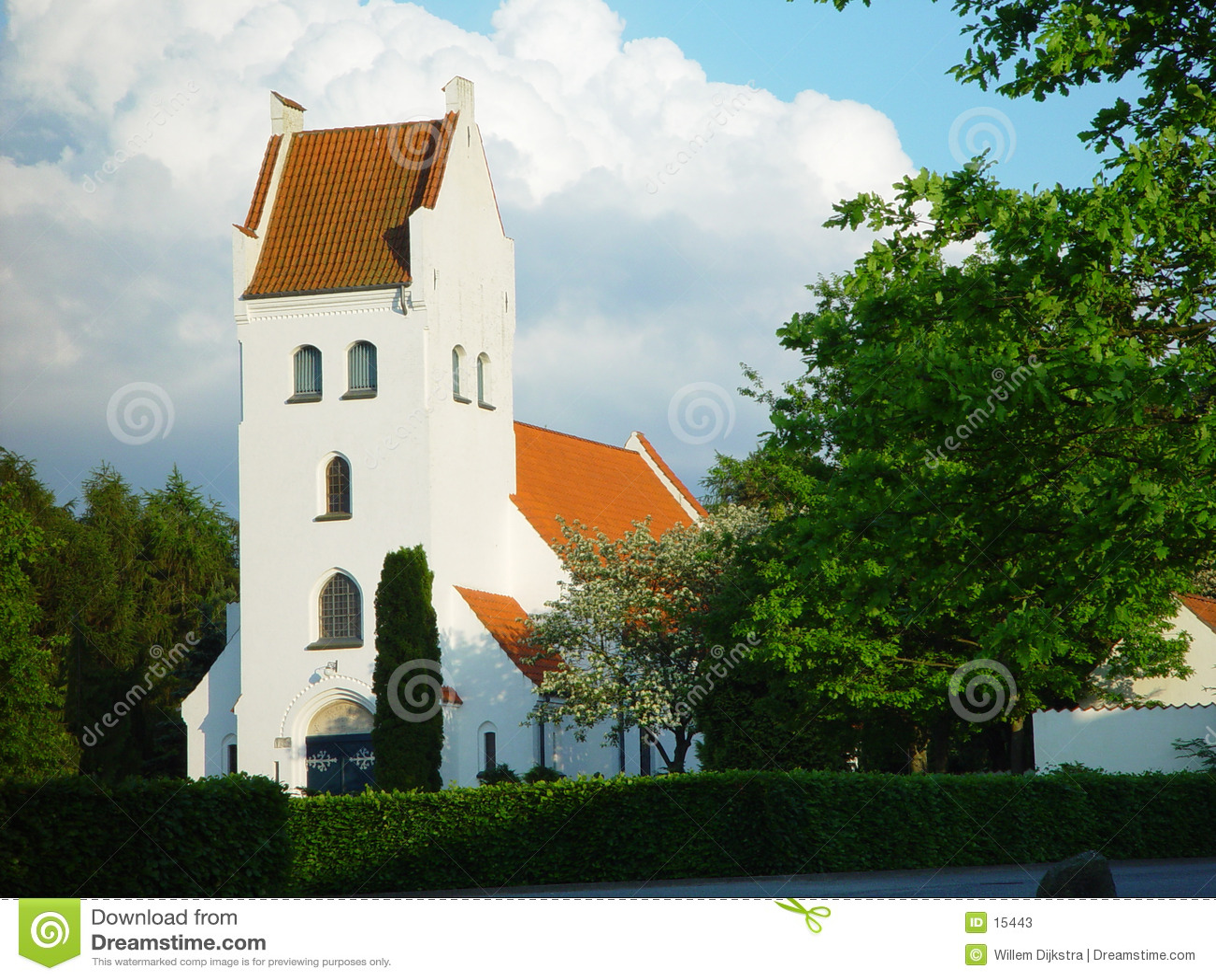 Duński kościoła