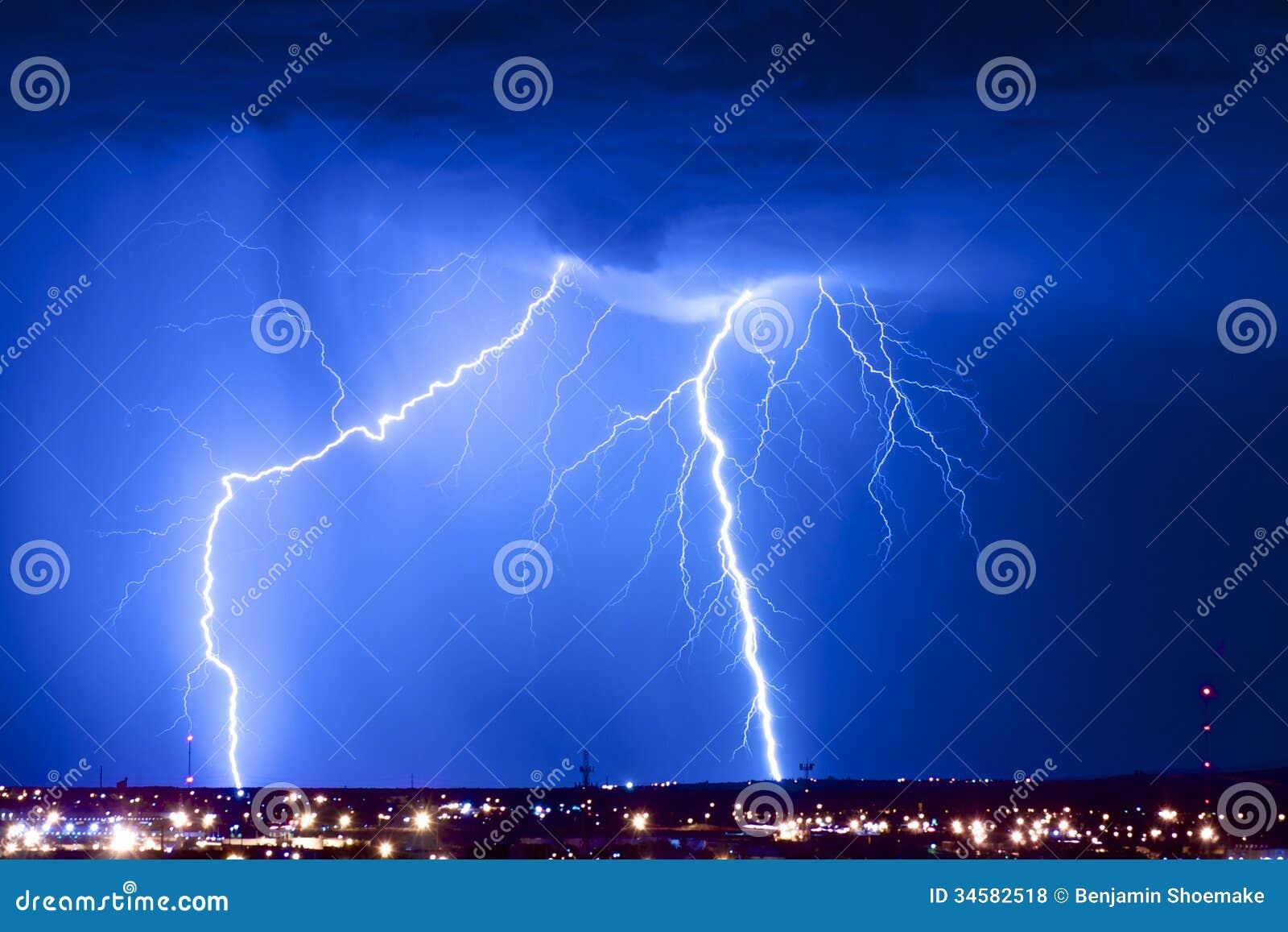 Dual Lightning Strikes