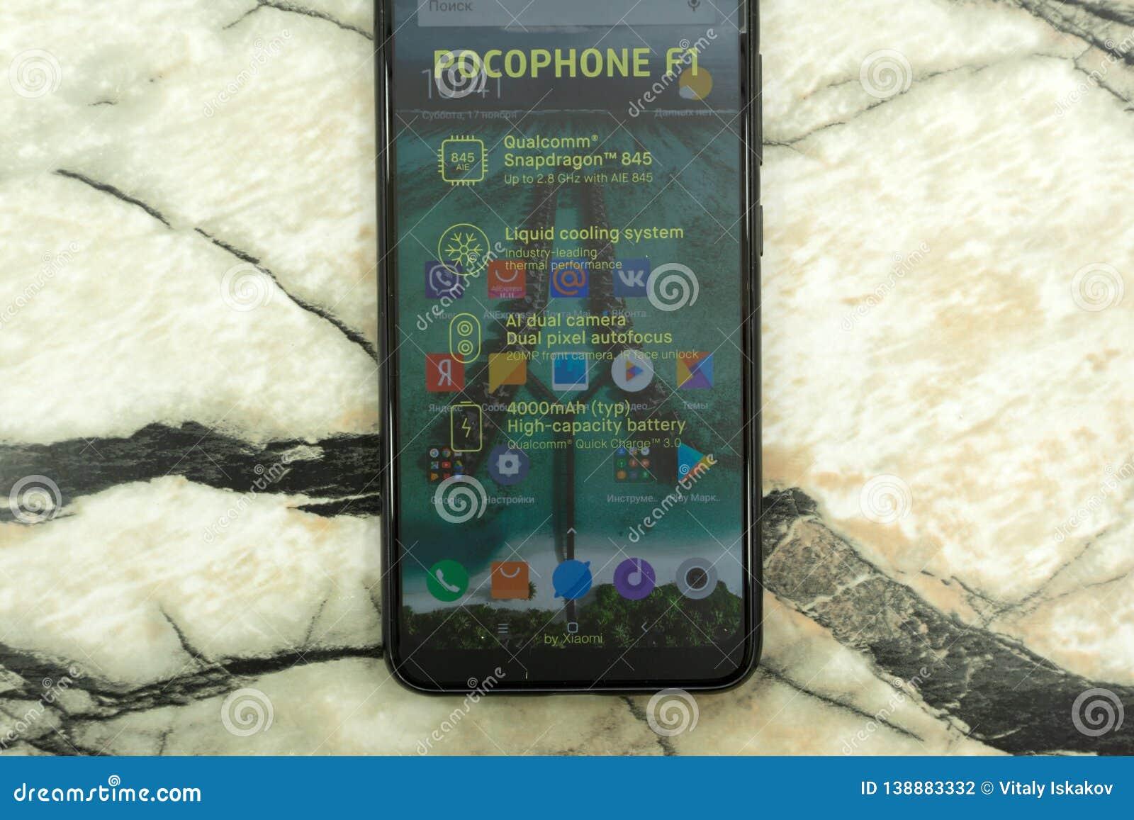 Dual Rear Camera Xiaomi Pocophone F1 Android Flagship
