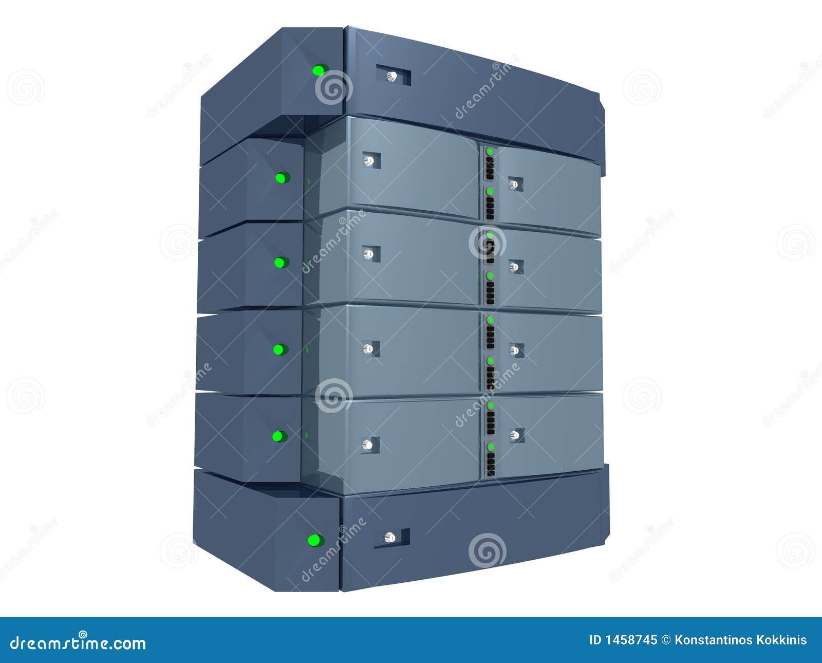 Dual Server - Light Blue
