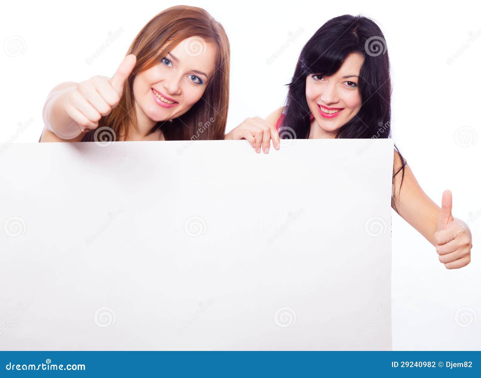 Download Duas meninas com bandeira. foto de stock. Imagem de charming - 29240982