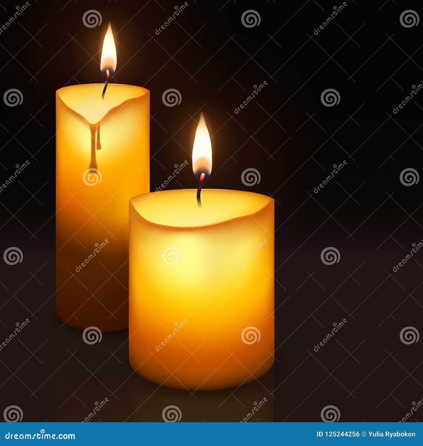Duas velas ardentes
