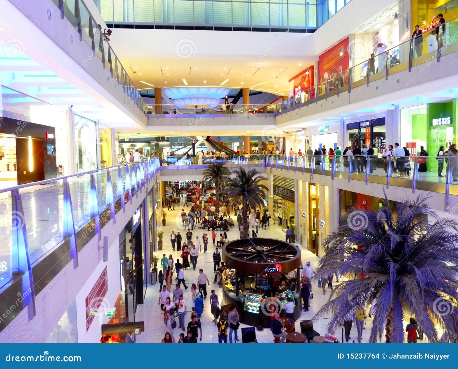 Dubai centrum handlowego zakupy