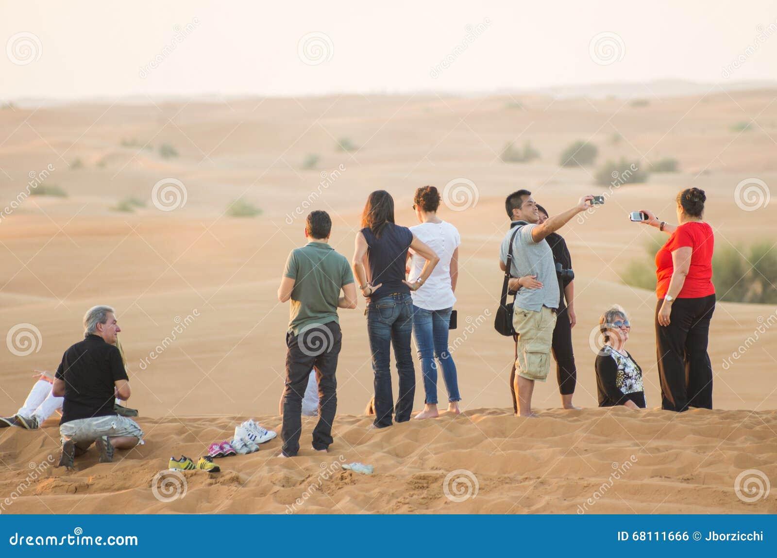 Desert Safari In Dubai Editorial Image Cartoondealer Com