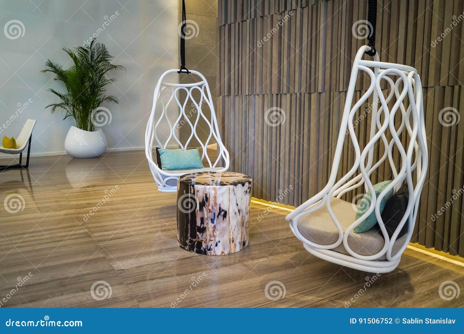 dubai en el verano de decoracin de mrmol interior moderna y brillante en el balneario