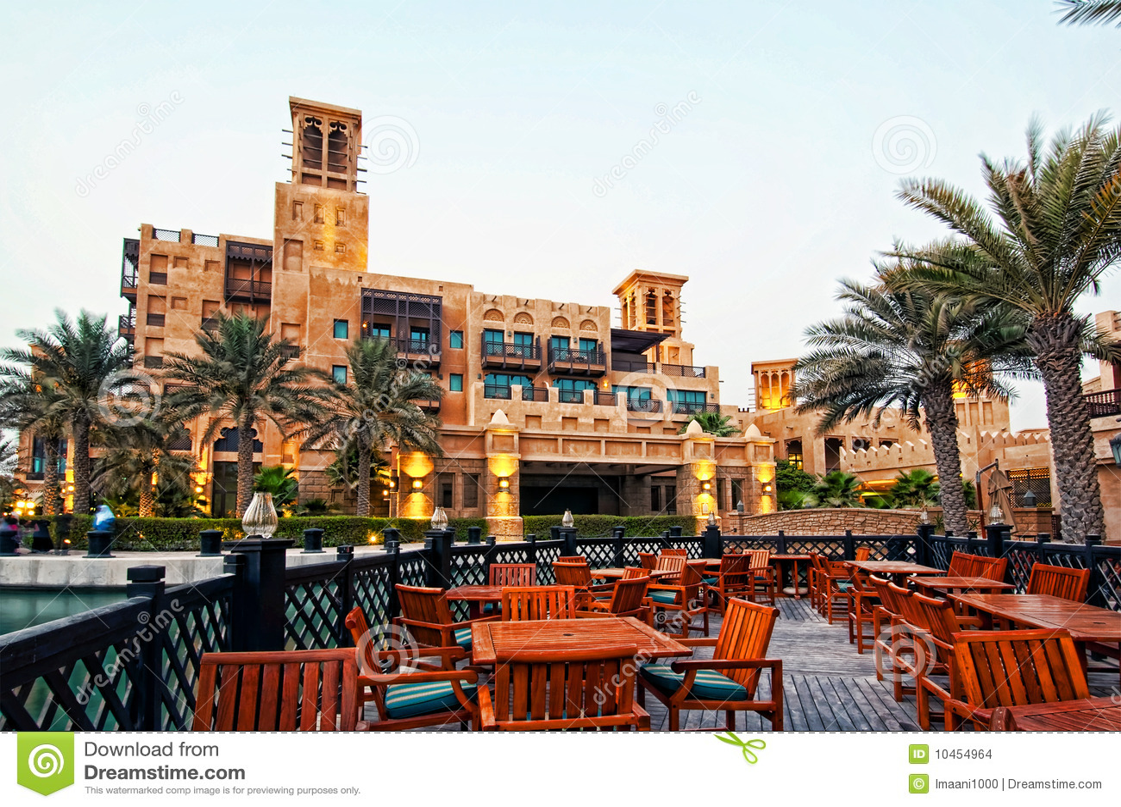 Dubai hotelu luksus