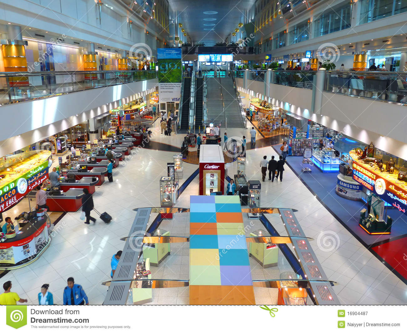 Dubai International Airport Terminal 1 Editorial ...