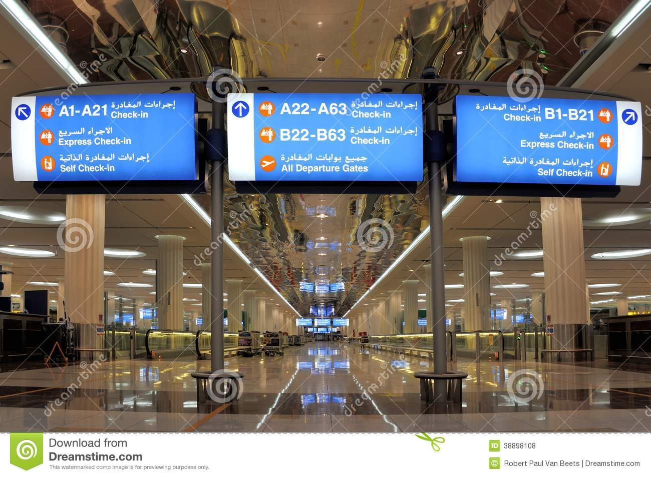 Dubai Airport Car Rental Return