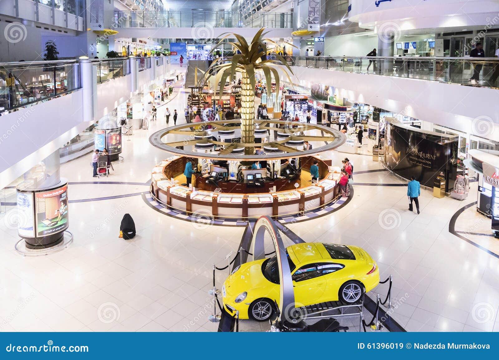 DUBAI INTERNATIONAL-FLUGHAFEN am 9. März 2015