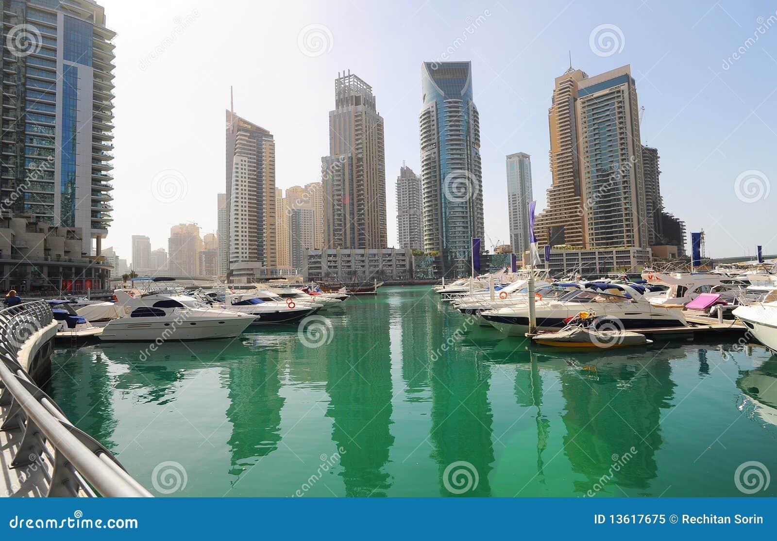 Dubai jachty