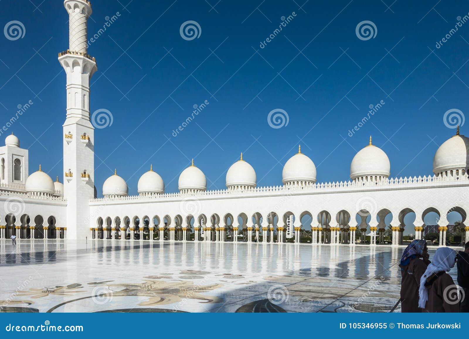 Dubaijumeirah Mosque Editorial Image Image Of Religion