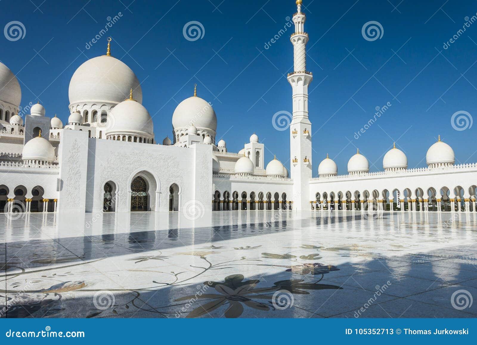 Dubaijumeirah Mosque Stock Image Image Of Religious