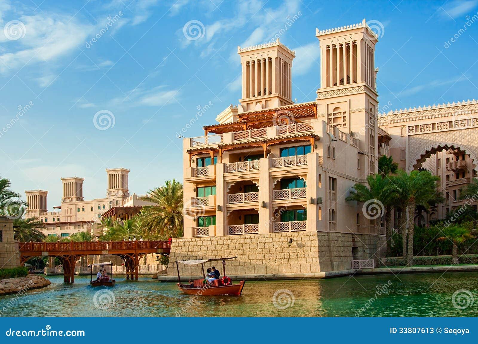Dubai june 3 the famous hotel and tourist district of for Hotel dubai design district
