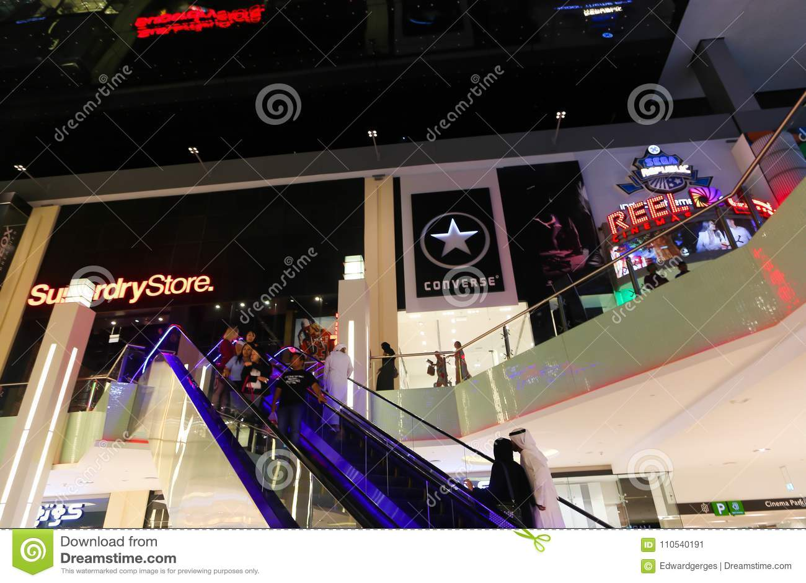 Dubai Mall editorial photo. Image of