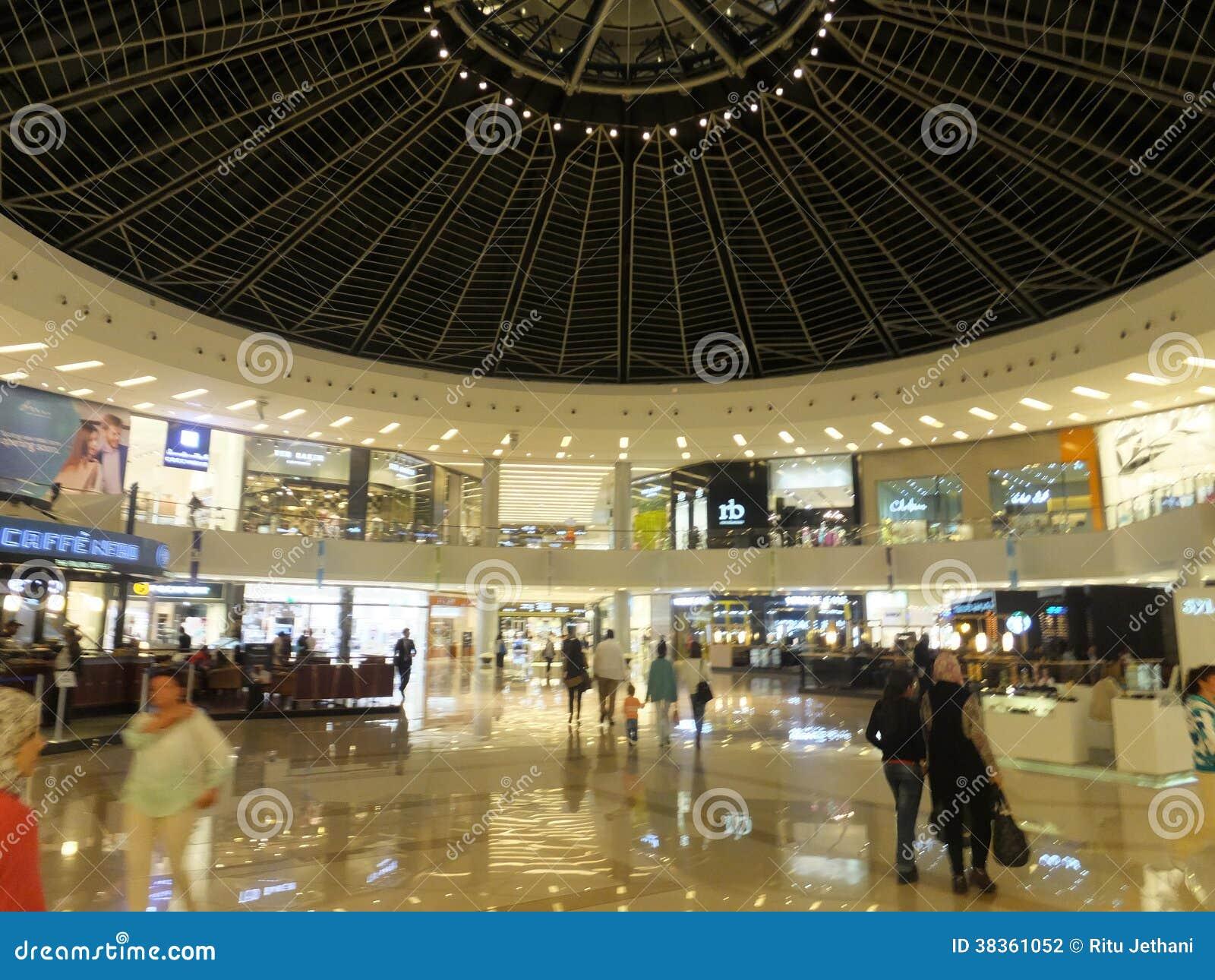 Dubai Marina Mall In The Uae Editorial Photography Image 38361052