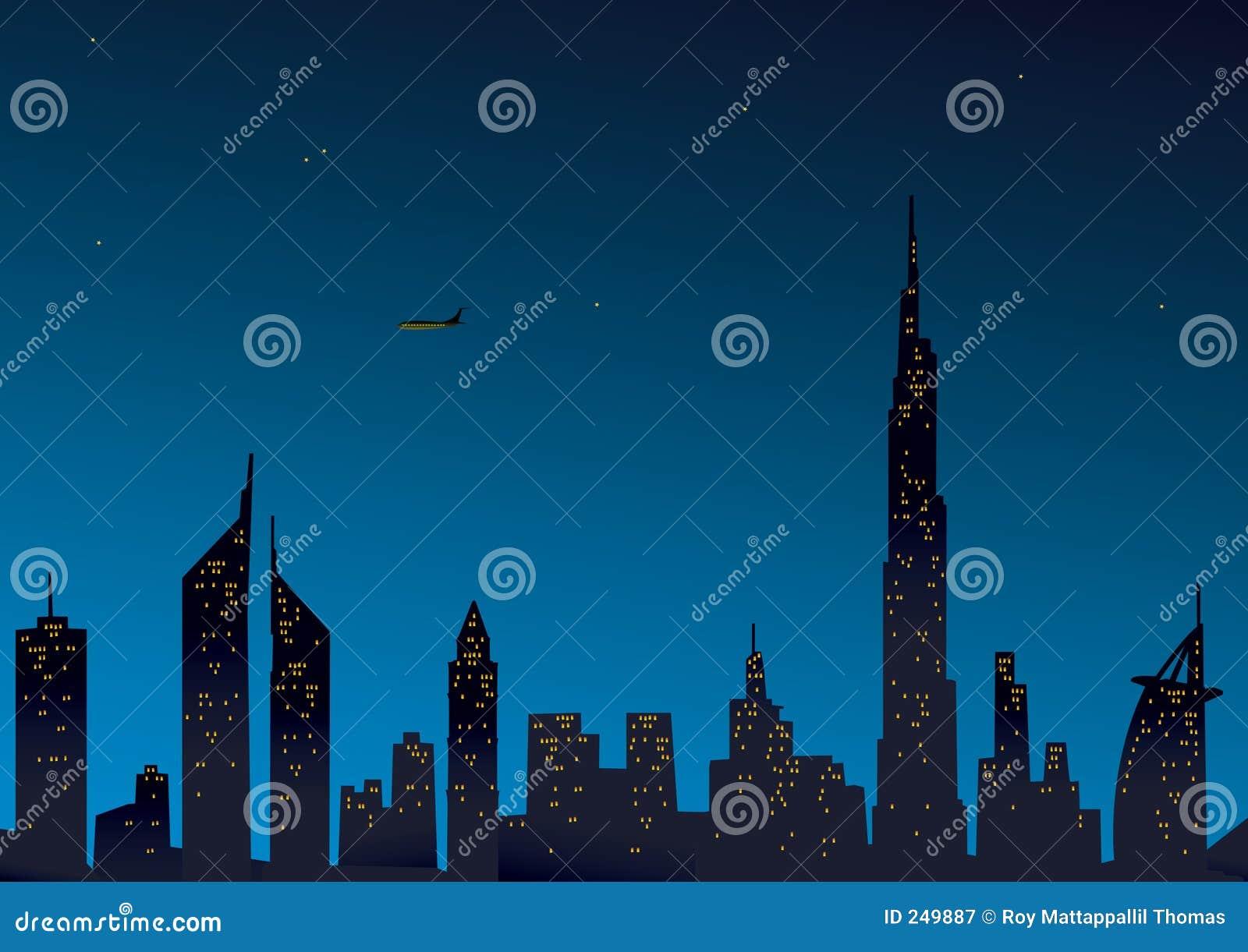 Dubai modern sikt