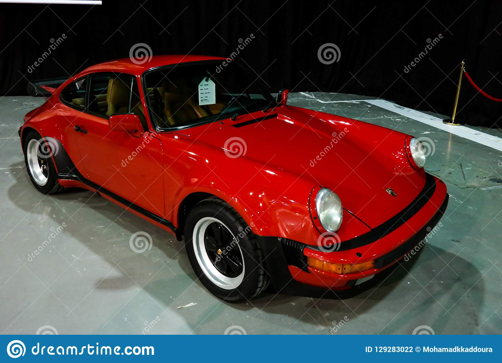 Dubai Motor Porsche Corner Displaying Their Epic New 911 Cars Turbo S Editorial Photography Image Of Luxury Lifestyle 129283022