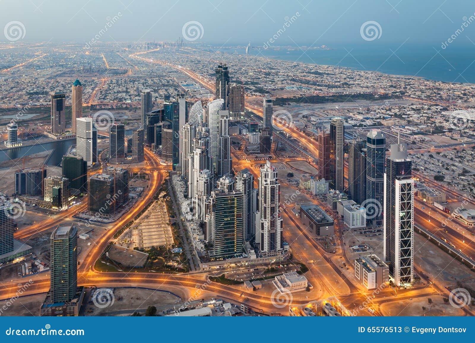 Dubai na manhã