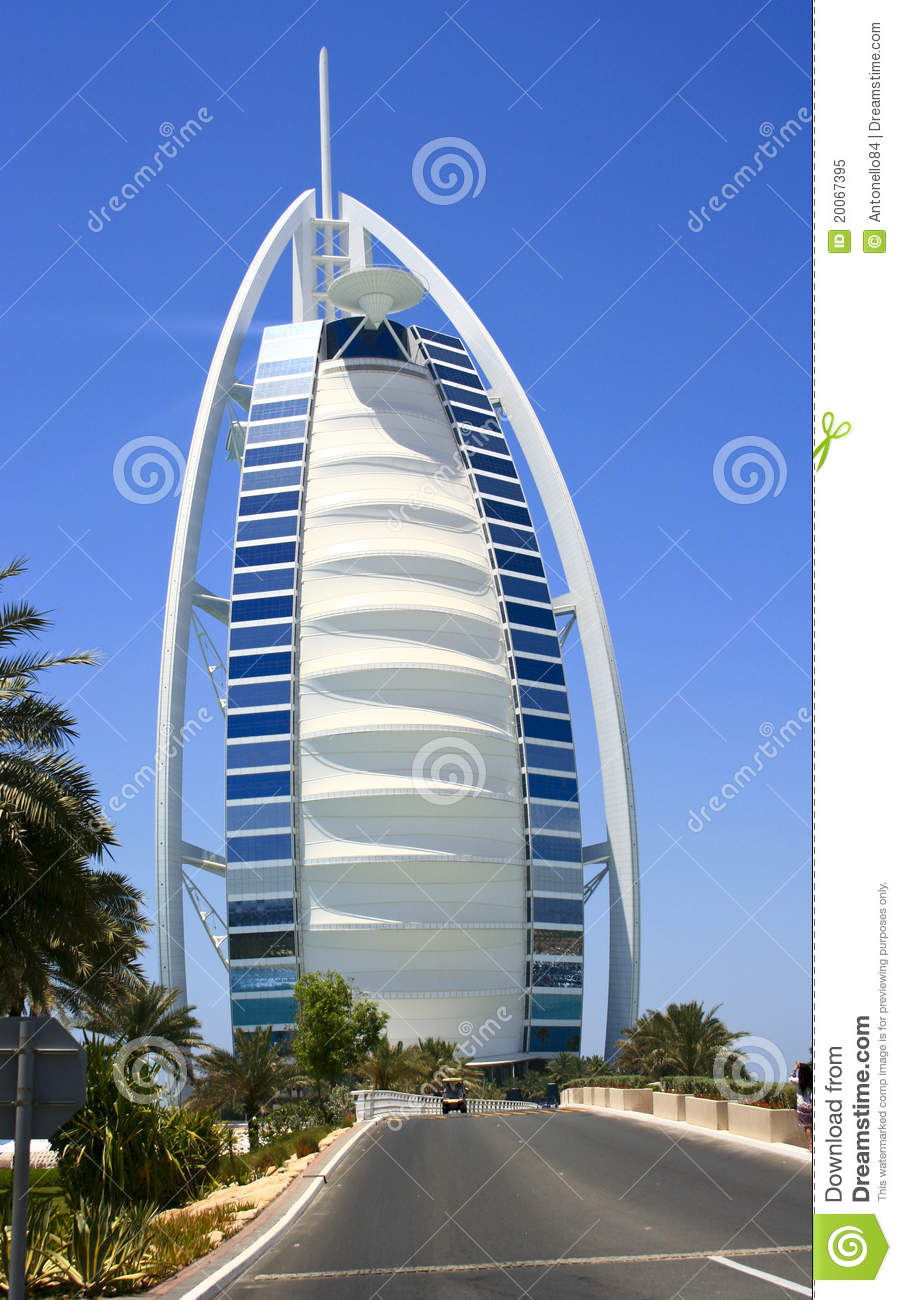 Dubai sail hotel royalty free stock photo image 20067395 for The sail hotel dubai