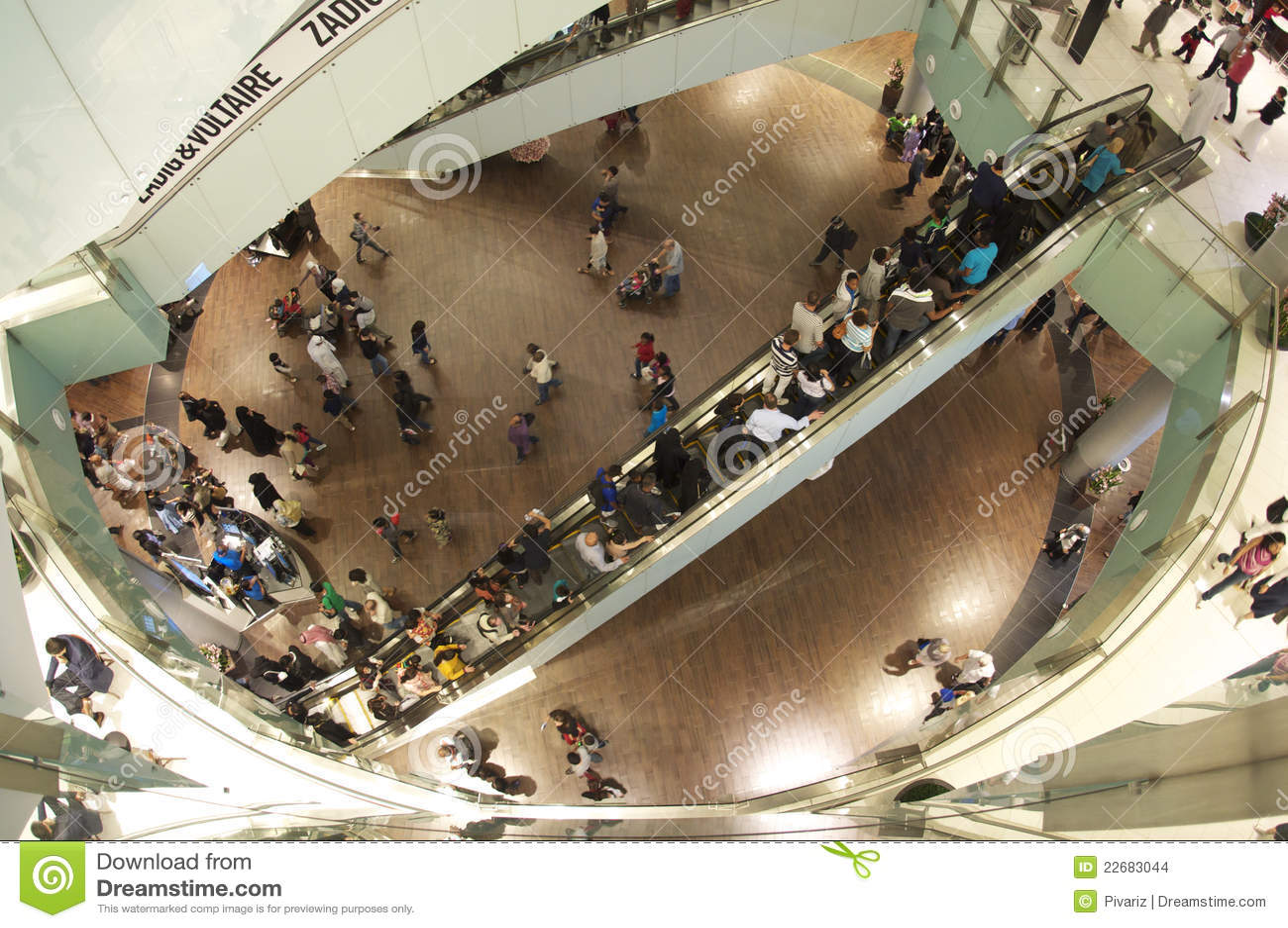Dubai shopping festival at the dubai mall