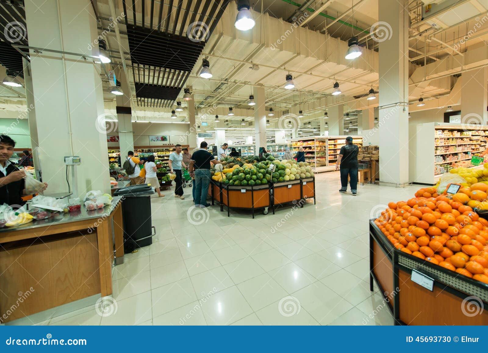 Dubai Supermarket Waitrose On August 8 I Editorial Image Image Of