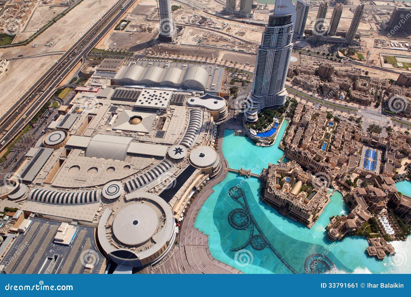 Dubai  The Top View On Dubai Downtown Editorial Photo