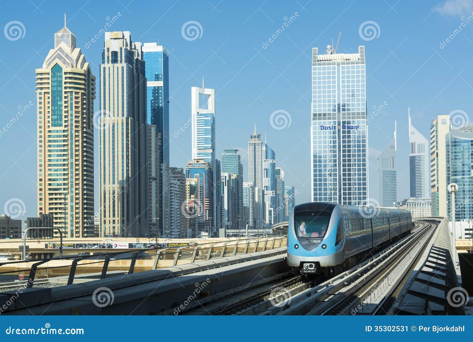 Dubai tunnelbana